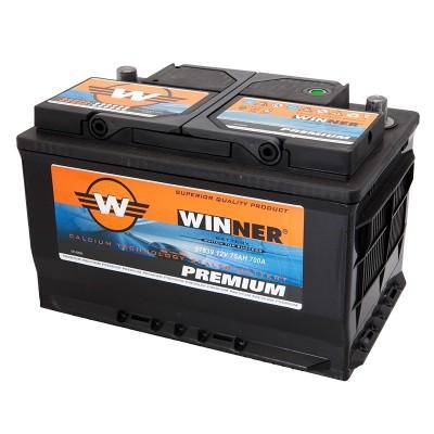 Μπαταρία Winner Premium 57539 -12V 75Ah