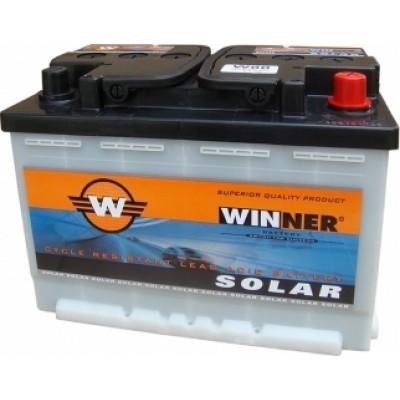 Μπαταρία  Winner Solar W80 -12V 80Ah