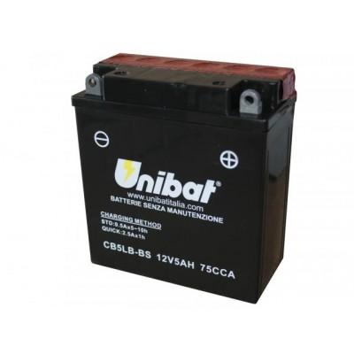 Μπαταρία Unibat YB5L-B-BS - 12V 5Ah - 75 CCA(EN)