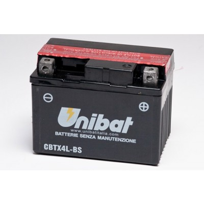 Μπαταρία Unibat YTX4L-BS - 12V 3Ah - 50 CCA(EN)