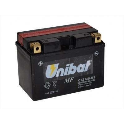 Μπαταρία Unibat YTZ14S-BS - 12V 11,2Ah - 230 CCA(EN)