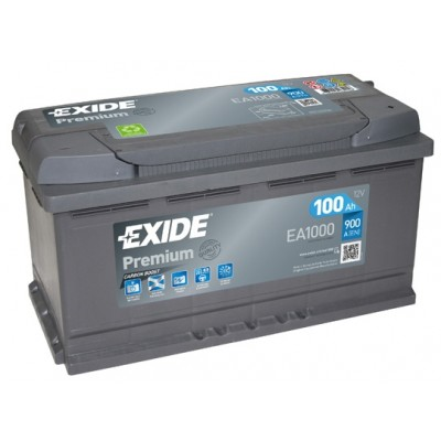 Μπαταρία Exide Premium  EA1000 -12V 100Ah