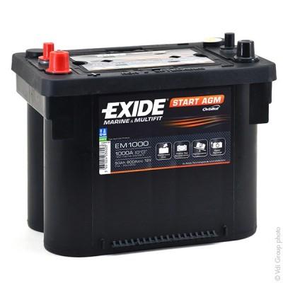 Μπαταρία Exide Start AGM EM1000