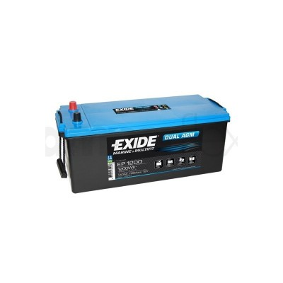 Μπαταρία Exide Dual AGM EP1200-12V 140Ah