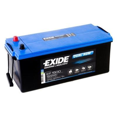 Μπαταρία Exide Dual AGM EP1500-12V 180Ah