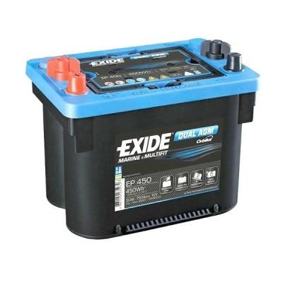 Μπαταρία Exide Dual AGM EP450-12V 50Ah