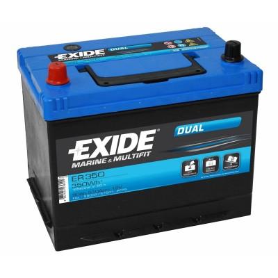 Μπαταρία Exide Dual ER350-12V 80Ah