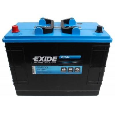 Μπαταρία Exide Dual ER650 -12V 142Ah