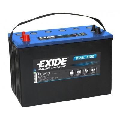 Μπαταρία Exide Dual AGM EP900-12V 100Ah