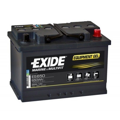Μπαταρία Exide Equipment Gel ES650 - 12V 56Ah