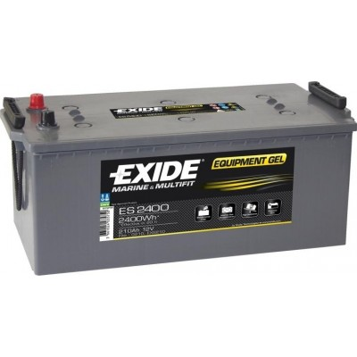 Μπαταρία Exide Equipment Gel ES2400 - 12V 210Ah