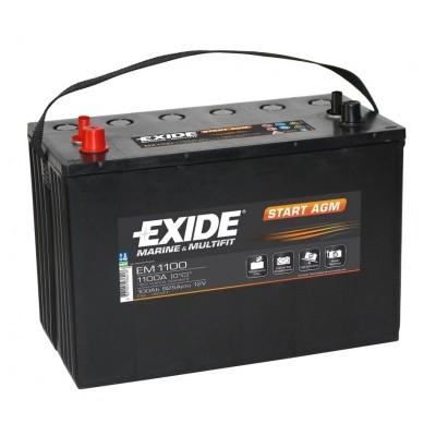 Μπαταρία Exide Start AGM EM1100-12V 100Ah