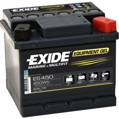 Μπαταρία Exide Equipment Gel ES450 - 12V 40Ah