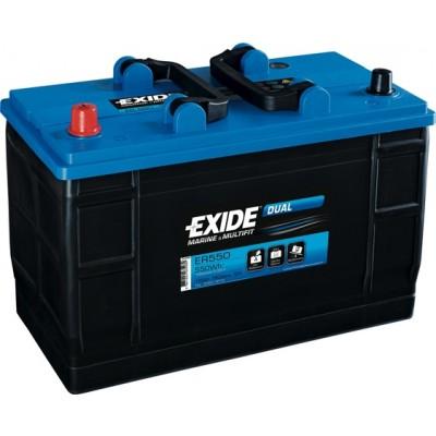 Μπαταρία Exide Dual ER550-12V 115Ah