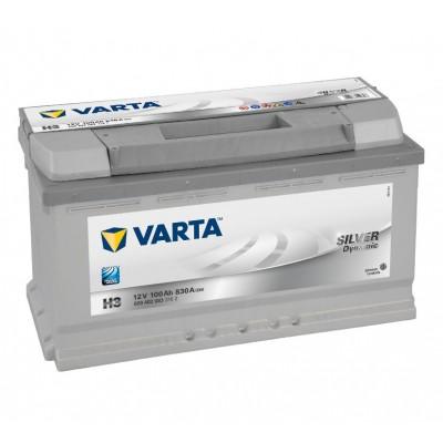 Μπαταρία Varta Silver H3-12V 100Ah