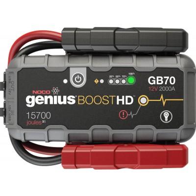 Εκκινητής - Booster μπαταριών Noco Genius GB70 - 12V - 2000A
