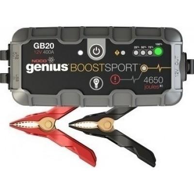 Εκκινητής - Booster μπαταριών Noco Genius GB20  12V  400A