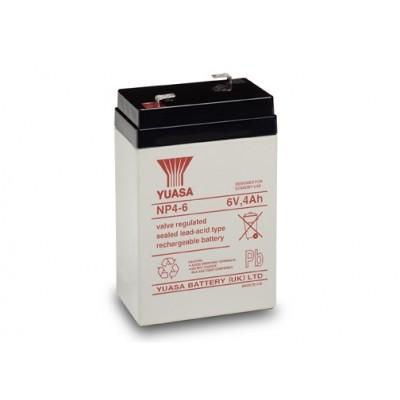 Μπαταρία Yuasa NP4-6 VRLA -6V 4Ah