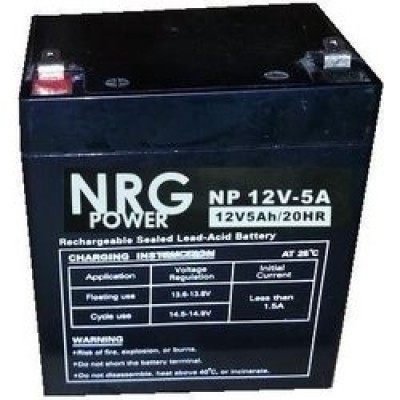 Μπαταρία NRG POWER -12V 5Ah