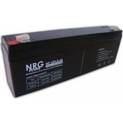 Μπαταρία NRG POWER -12V 2,3Ah