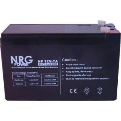 Μπαταρία NRG POWER -12V 7Ah