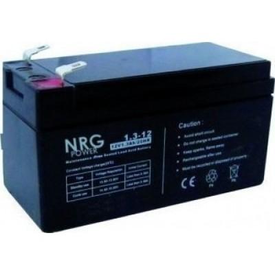 Μπαταρία NRG POWER -12V 1,3Ah