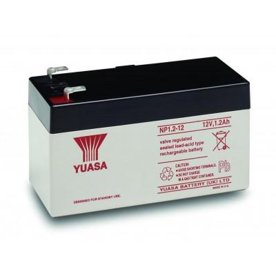Μπαταρία Yuasa NP1.2-12 VRLA -12V 1,2Ah