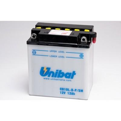 Μπαταρία Unibat YB10L-BP - 12V 12Ah - 160 CCA(EN)