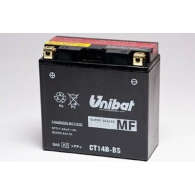 Μπαταρία Unibat YT14B-BS - 12V 12Ah - 210 CCA(EN)