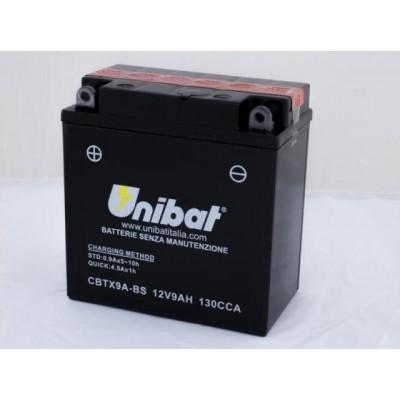 Μπαταρία Unibat YTX9A-BS - 12V 9Ah - 130 CCA(EN)