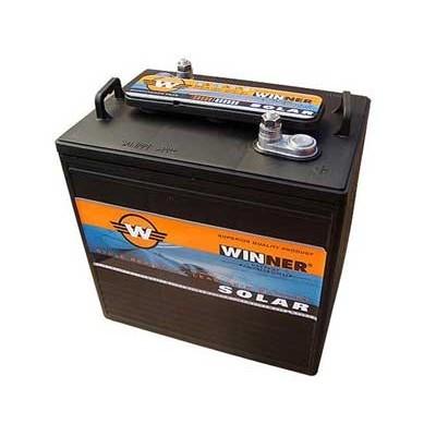 Μπαταρία Winner Solar W6-215A - 6V 260Ah