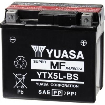 Μπαταρία Yuasa YTX5L-BS - 12V 4Ah - 80 CCA(EN)