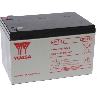 Μπαταρία Yuasa NP12-12 VRLA -12V 12Ah