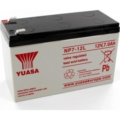 Μπαταρία Yuasa NP7-12L VRLA -12V 7Ah