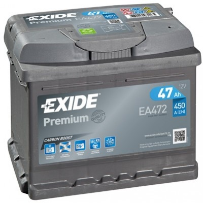 Μπαταρία  Exide Premium EA472 - 12V 47Ah