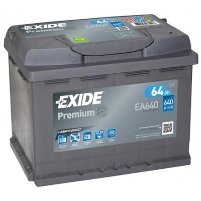 Μπαταρία Exide Premium EA640- 12V 64Ah