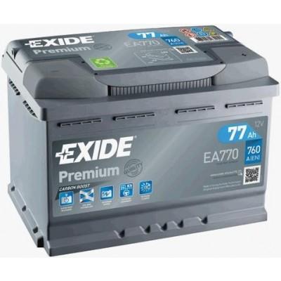 Μπαταρία Exide Premium  EA770-12V 77Ah